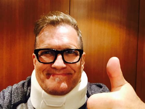 Neck Brace Meme - drew carey on twitter quot original thumbs up drew in a neck