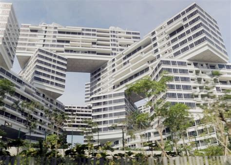 the interlace jenga like apartments for singapore oma s jenga like interlace luxury apartments near