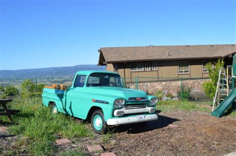 Car Upholstery San Jose 3a59a125566 1959 Chevrolet Apache 3100 1 2 Ton Fleetside
