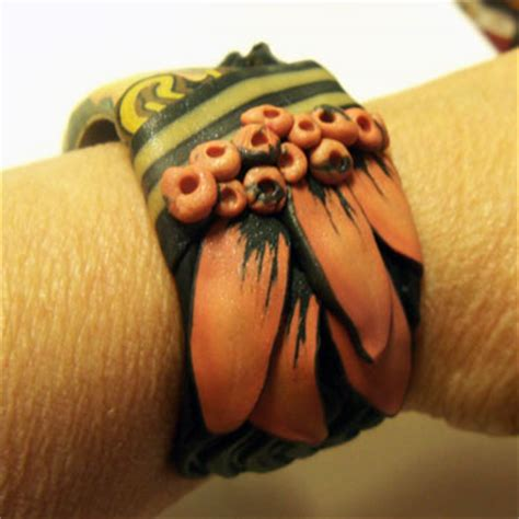 Laquita Blouse polymer clay bracelet 2 171 polymer clay etc