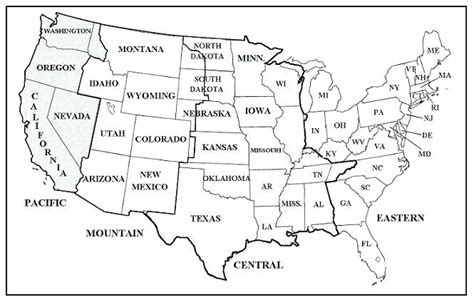 printable united states time zone map printable maps of map us time zones cities zone vol 3 road