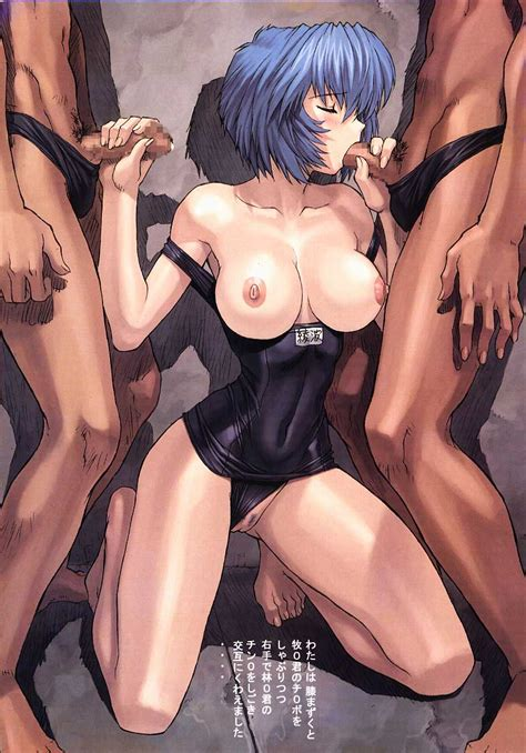 Breasts Pussy Penis Swimsuit Barefoot Oral Fellatio Blue Hair Translation Request Handjob Group