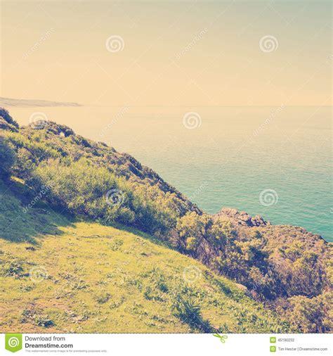 instagram layout landscape south australia coast instagram style stock photo image