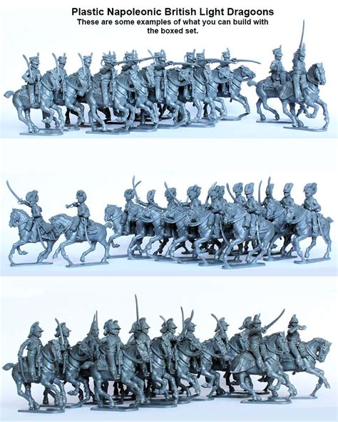 waterloo workbench with light bh 90 napoleonic british light dragoons 1808 15 perry