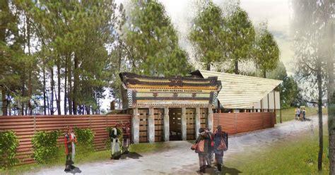 batak onan ganjang ndaru arsitek sekolah kopi humbang hasundutan rumah