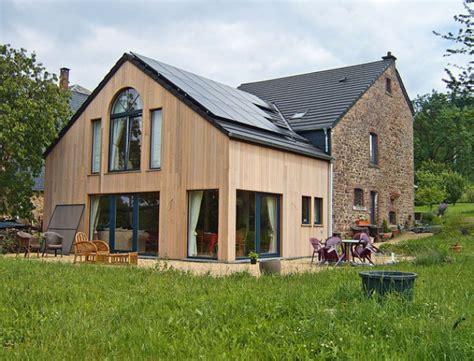 Construire Une Grange by Construire Un Extension Bois Et R 233 Nover Une Grange