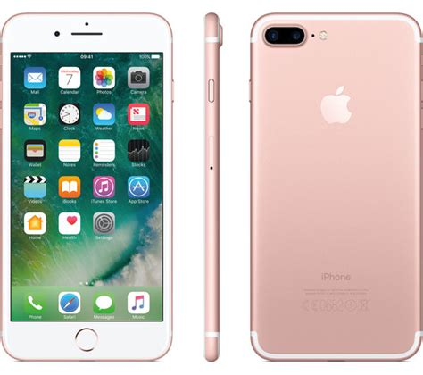 Iphone 7 128rose Gold apple iphone 7 plus gold 128 gb deals pc world