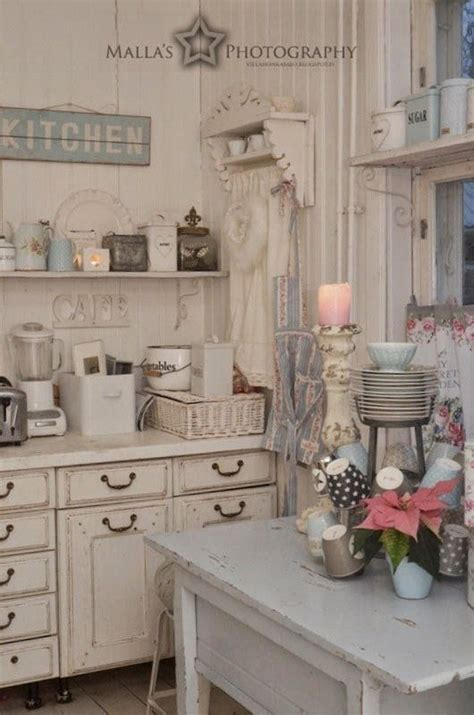 chic kitchen 35 awesome shabby chic kitchen designs accessories and