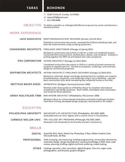 best resume format 2014 awesome college resume template 2018 best templates