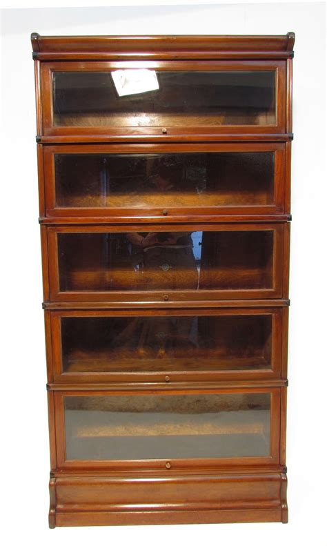 globe wernicke sectional bookcase value antique mahogany globe wernicke 5 stack bookcase
