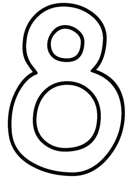 Number 8 Coloring Pages Printable Get Coloring Pages Coloring Pages For 8 And Up