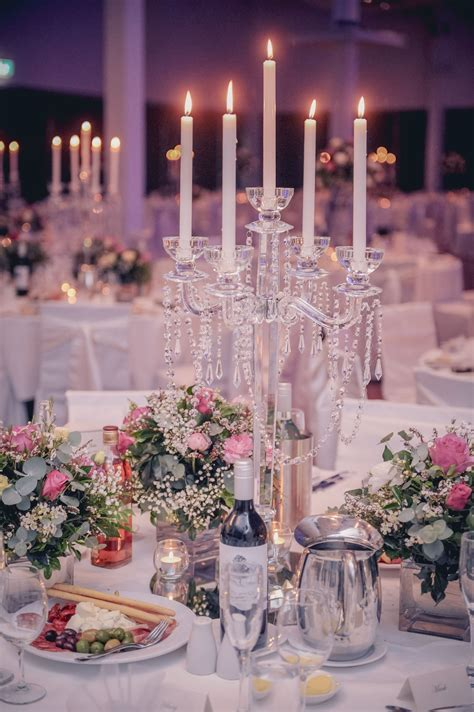 Crystal Candelabra Wedding Centrepiece   Vintage Wedding