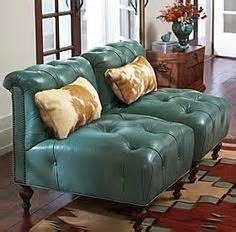 king ranch leather couch cowhide rocker rockers leather and rocks