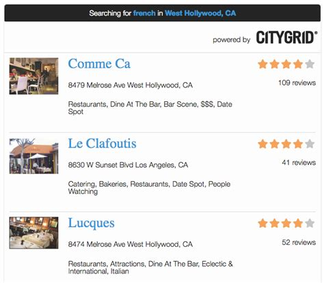 new citygrid template for wordpress search plugin