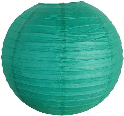 How To Make Japanese Paper Lanterns - 12 quot teal blue green japanese paper lantern