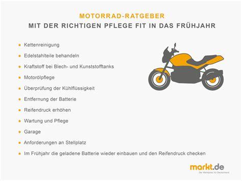 Motorrad Winterfest Machen Checkliste wie 252 berwintert das motorrad richtig markt de
