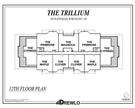 lift floor plan the trillium at the royal gardens burlington ontario