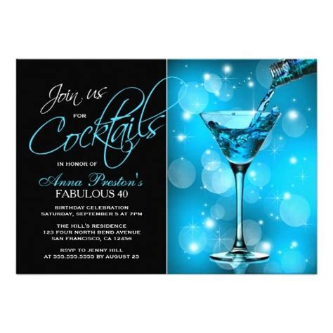cocktail invitation 89 best birthday invitation templates images on