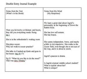 sided journal entry template entry journals exles teaching
