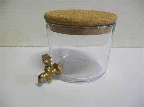 contenitori con rubinetto contenitore vetro con rubinetto in ottone enotecnica