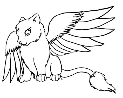 angel cat coloring page cat color sheet virtren com