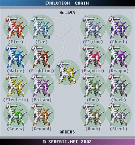 best arceus type pok 233 mon of the week arceus