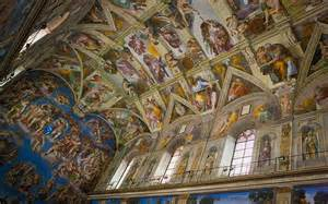 What Is Painted On The Ceiling Of The Sistine Chapel by Rome S Sistine Chapel 50 Fascinating Facts Telegraph