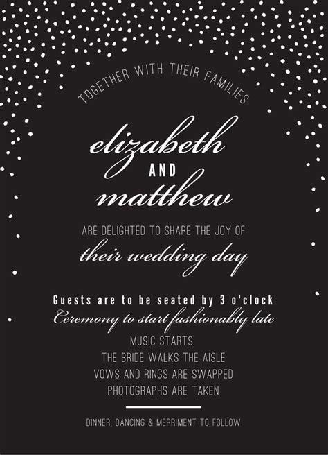 Wedding Spot Login by Rustic Mini Confetti Spot Pkw Wedding Invitations