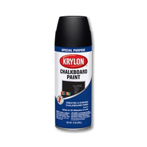 chalk paint canadian tire krylon chalkboard spray paint black 12 oz