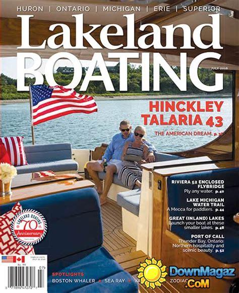 boating magazine boat of the year 2016 lakeland boating july 2016 187 download pdf magazines