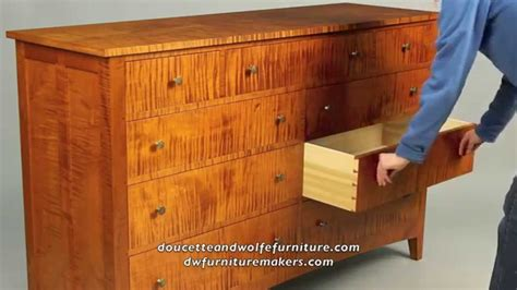 custom chest of drawers building process by