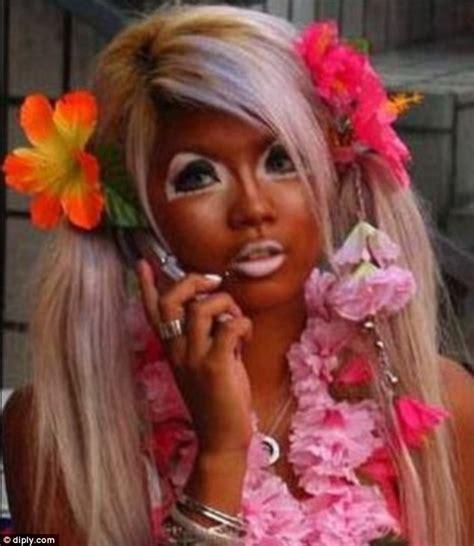 Makeup Laode بالصور نساء إرتكبن أسوأ كوارث المكياج في العالم mbc net