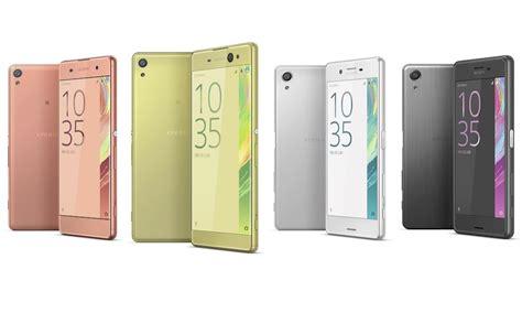 Hp Sony Xperia X Series sony xperia x series smartphones pre orders start ecoustics