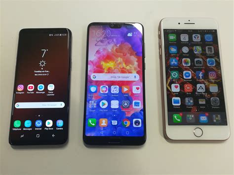 huawei p pro  galaxy   iphone   la guerre est declaree