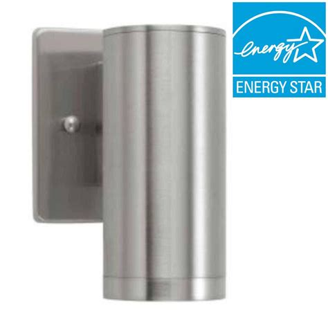 brushed nickel exterior lights home decorators collection brushed nickel outdoor led