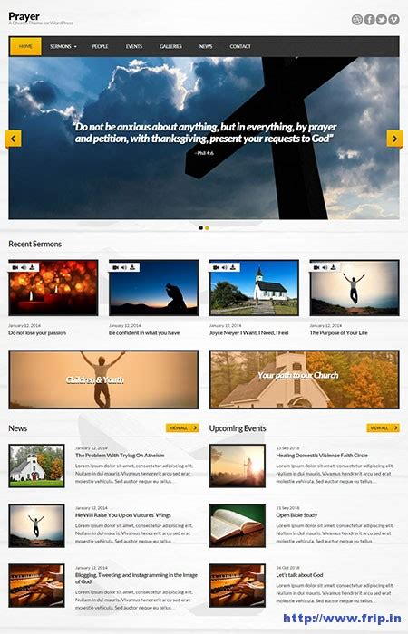 themes wordpress church 40 best church wordpress themes for 2015 frip in