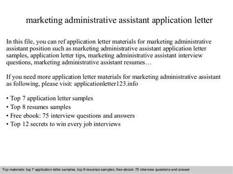 application letter for marketing assistant letter of application letter of application