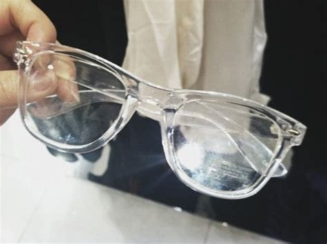 transparently trendy the clear glasses sunglasses glasses readers dope tumblr clear