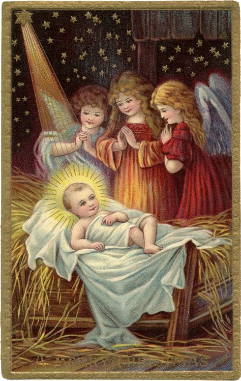 wonderful christmas baby jesus image  graphics fairy