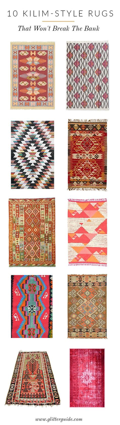kilim style rugs 10 kilim style rugs that won t the bank glitter guide