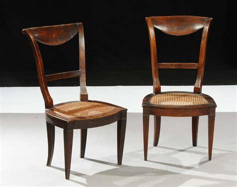 sedie antiquariato coppia di sedie direttorio antiquariato argenti e