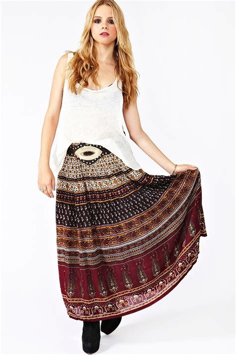 bohemian skirts dressed up