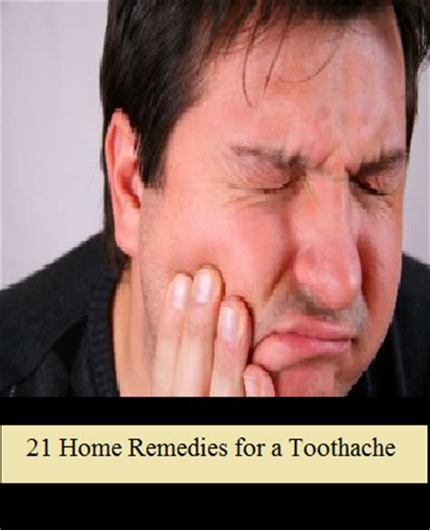 21 home remedies for a toothache the prepared page