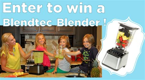 Fitness Magazine Giveaways - blendtec giveaway