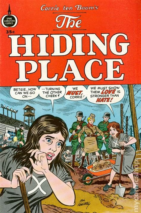 the place books hiding place 1973 spire barbour comic books