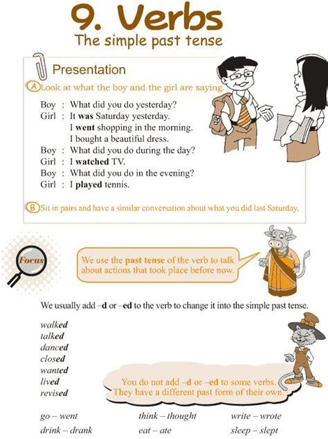 printable lesson plans for grade 3 grade 3 grammar lesson 9 verbs the simple past tense