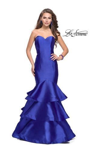 Blue Dress 25919 prom dresses la femme