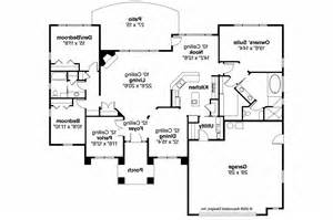 mediterranean floor plans mediterranean house plans mendocino 30 681 associated