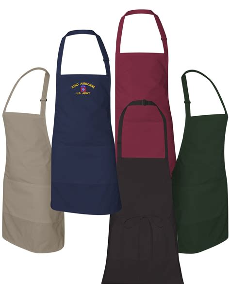 Custom Apron by Custom Embroidered U S Army Aprons