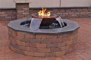 water fire pit evolution 360 fire amp water insert